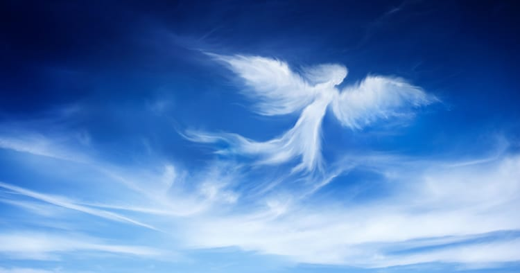 angel in the sky, angels we have heard high up in the sky