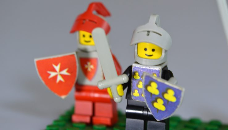why most believers cant defend their faith dipicted by 2 lego soldiers