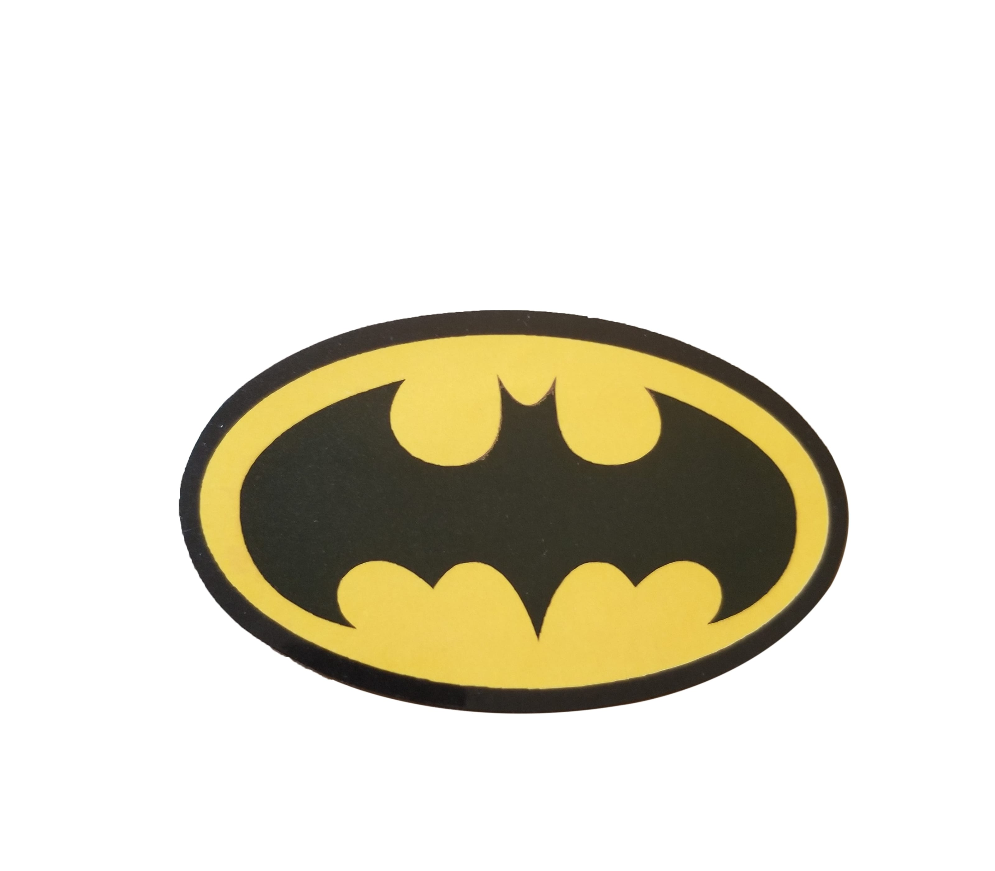 Original Black and Yellow Batman Logo