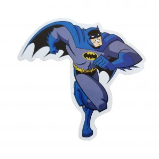 Batman, our caped crusader running into action
