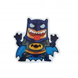 cute wild looking batman, cartoony looking batman