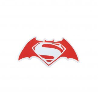 Batman Symbol with the Superman symbol inside of it