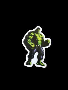"hulk standing straight, looking powerful and ready to ""hulk smash"""